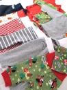 Kläder som litenfot har skänkt till Neonatalavdelningen i Uppsala