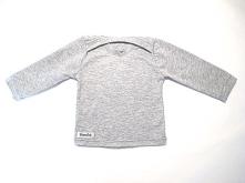 Grå tröja i ekologiskt tyg. Storlek 50 - 62. 120 kr. Artikelnr: 11